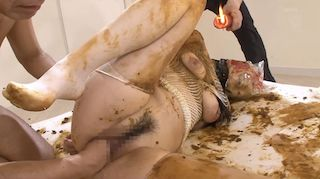 Extreme Japanese scat domination with candle wax deep fisting and fucking xxx porn video