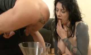 Dirty Veronica Moser scat fucking and shit eating xxx porn movie